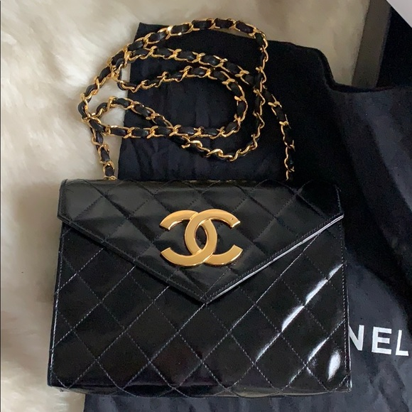 cc829d41b6ff CHANEL Bags | Flap Bag W Large 24k Gold Cc | Poshmark